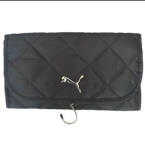 PUMA Quilted Hanging Clutch Cosmetic Bag NWT